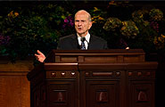 Elder Nelson speaks in General Conference