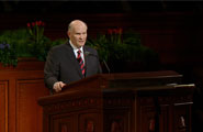 Elder Dale G. Renlund gives talk at April General Conference